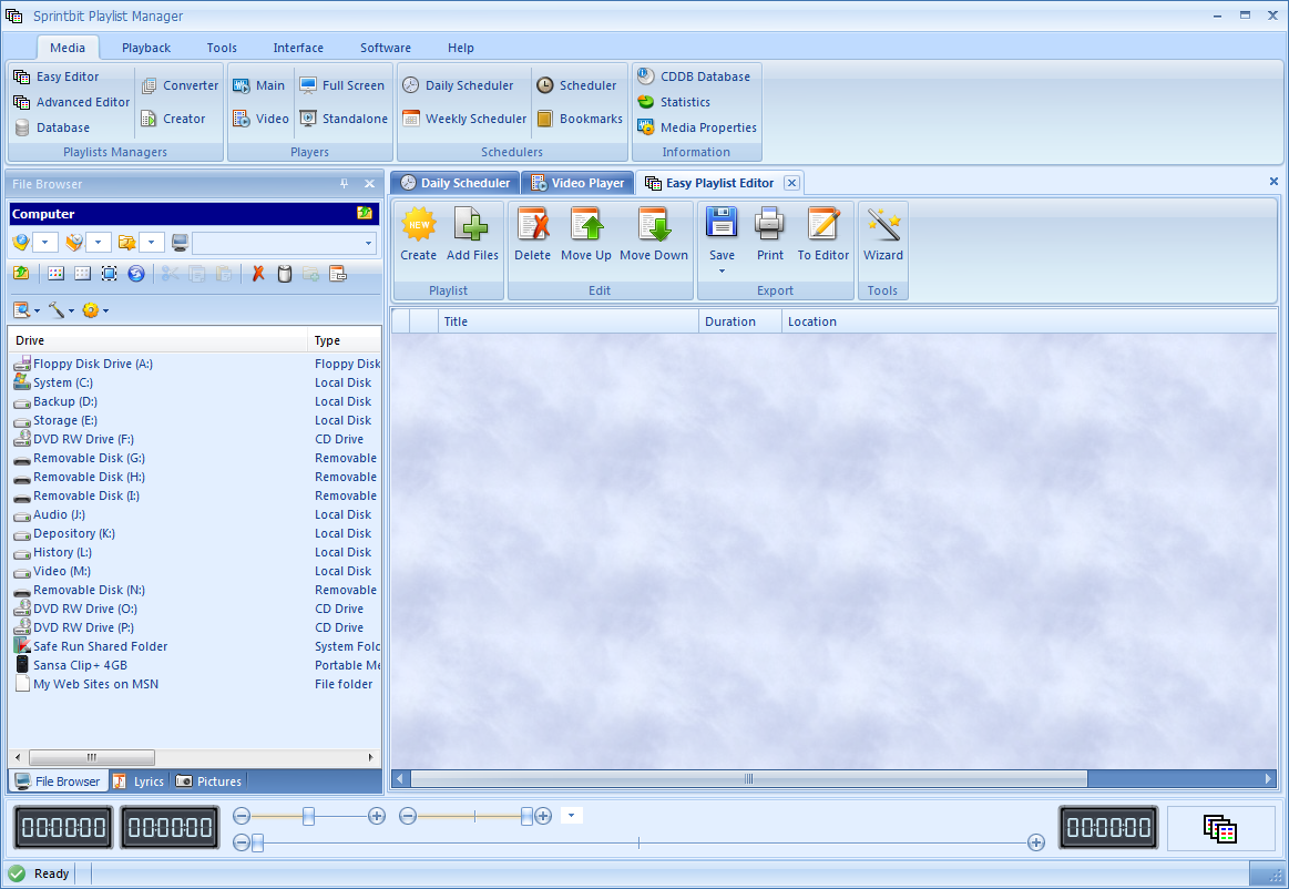 m3u playlist creator software